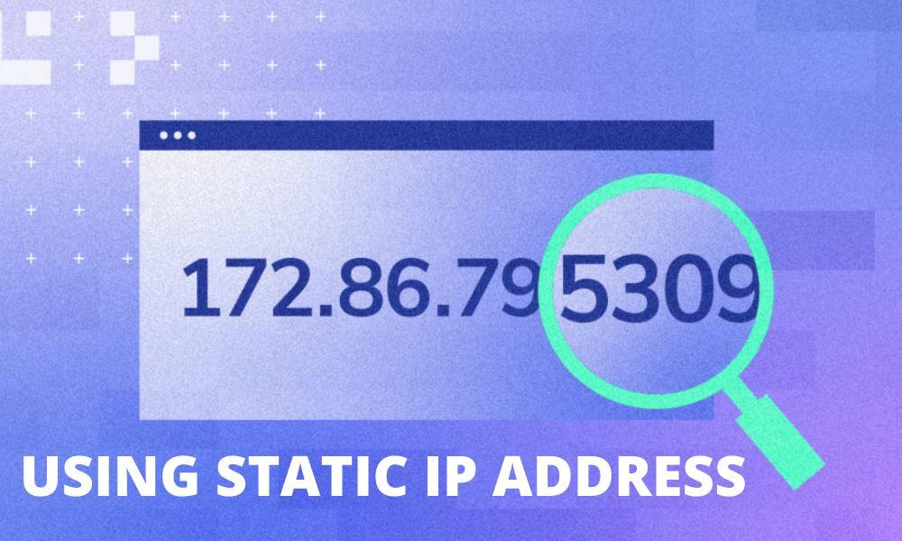 using ip address