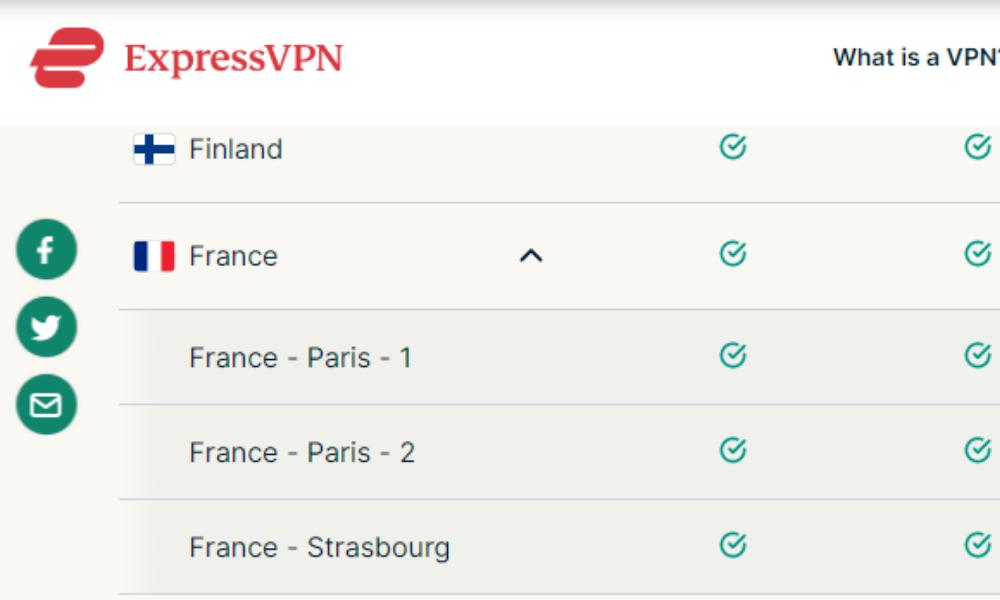 france servers paris